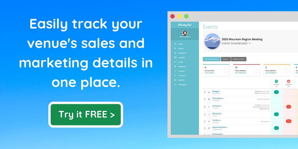 Event Venue Marketing Plan Software
