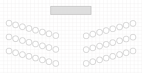 Theater / Auditorium Style Meeting Layout