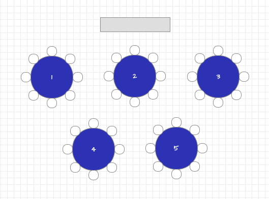 Banquet Style Conference Room Layout