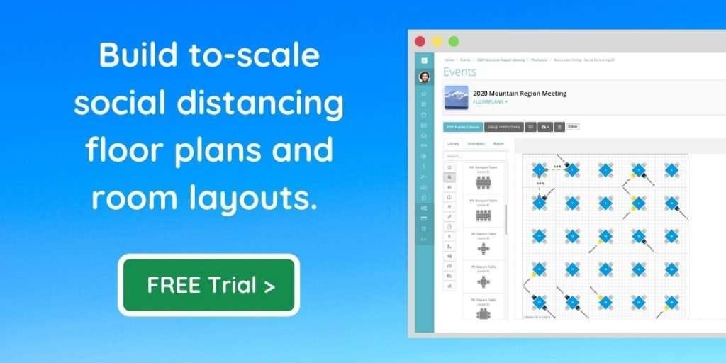 Social Distancing Floor Plan Software