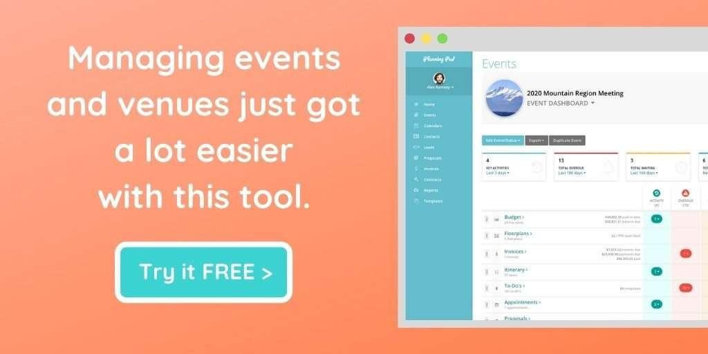 Venue Event Management Software