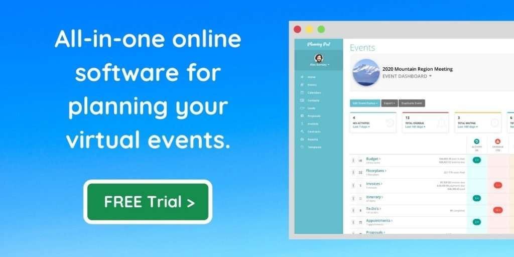Virtual Event Attendee Engagement App