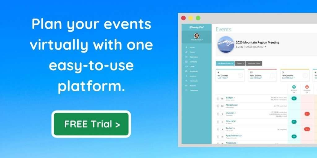 Covid-19 Event Planning Software