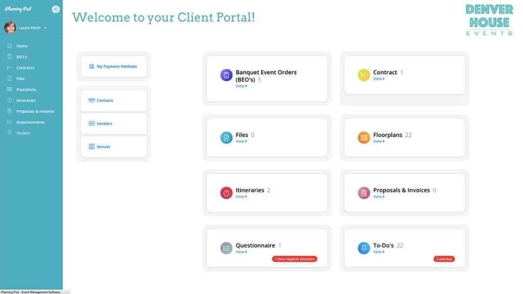 Planning Pod Client Portal