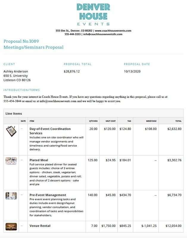 Planning Pod Event Proposal Builder